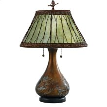 Mica Table Lamp in Other