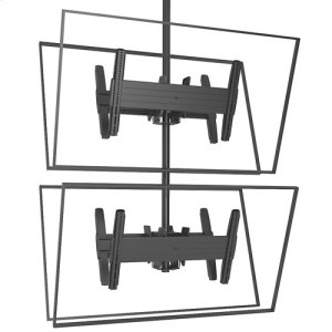 Chief ManufacturingFUSION Large Back-to-Back Stacked Ceiling Mounts