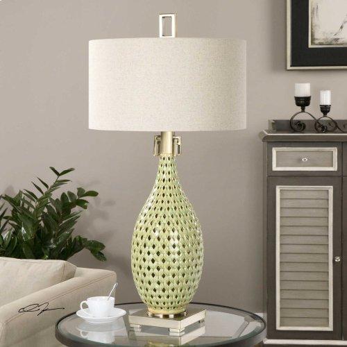 Chamoru Table Lamp