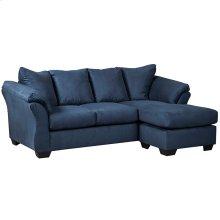 Signature Design by Ashley Darcy Sofa Chaise in Blue Microfiber [FSD-1109SOFCH-BLU-GG]