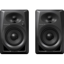 4-inch compact active monitor speaker (black)