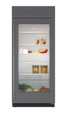 """36"""" Built-In Glass Door Refrigerator - Panel Ready Product Image"""