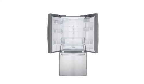 LFDS22520S - 22 cu.ft. Capacity 3-Door French Door Refrigerator