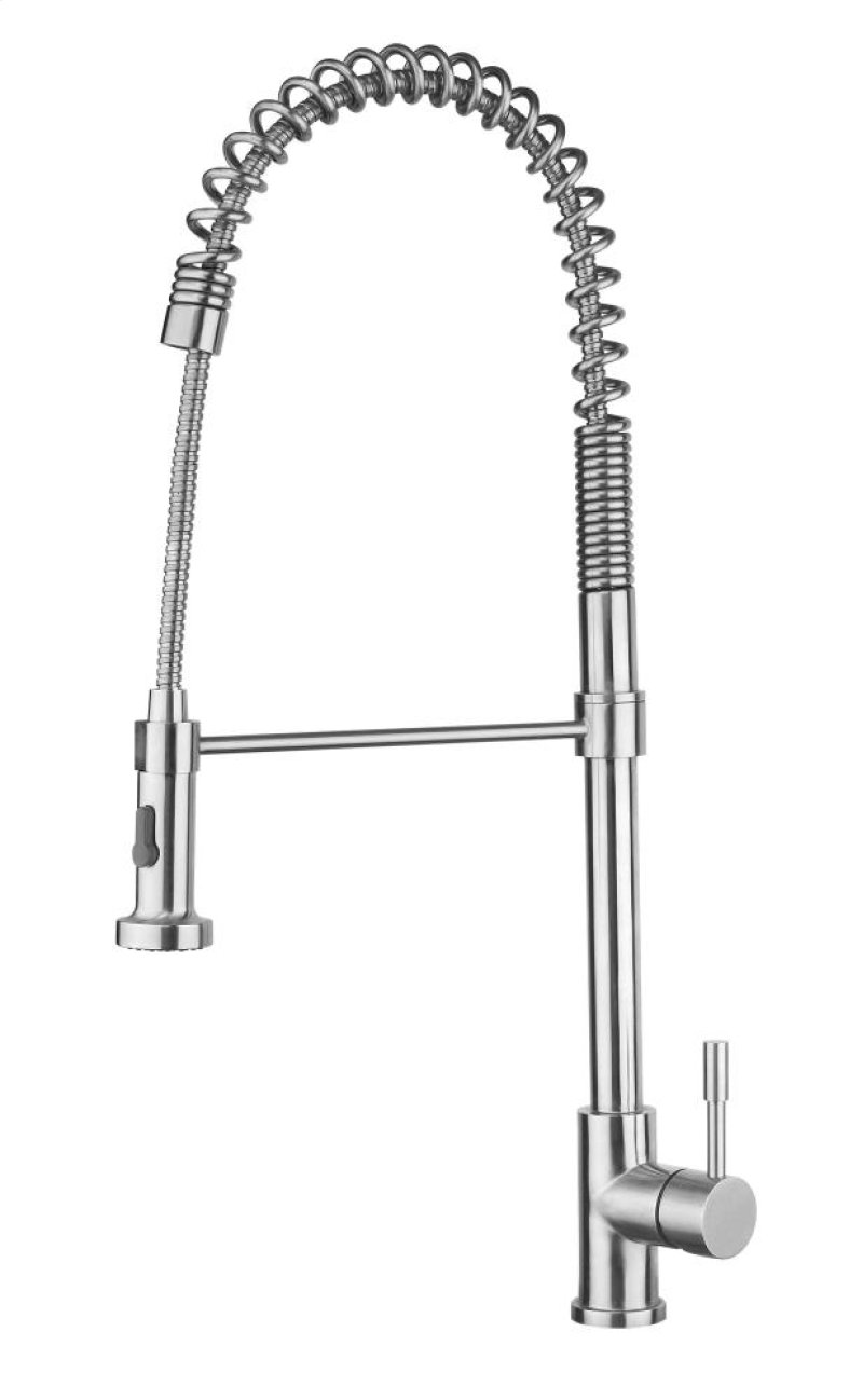 Stainless steel pull down faucet levana