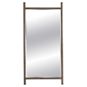 BASSETT FURNITUREBurley Brown Leaning Mirror