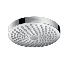 Chrome Showerhead 180 2-Jet, 1.8 GPM