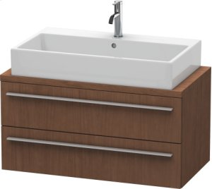 X-large Vanity Unit For Console Compact, American Walnut (real Wood Veneer)