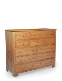 Shaker 12-Drawer Bureau, Medium