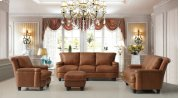 2493 Hutton Ottoman 1540 Brown Product Image