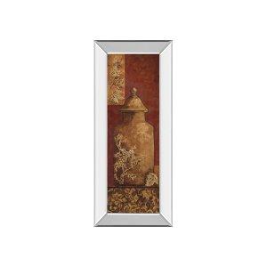 Asian Nuvo I By Angela Ferrante (mirrored Frame)