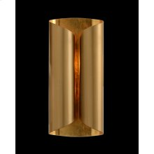 Curled Two-Light Wall Sconce