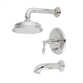 Polished-Nickel Balanced Pressure Tub & Shower Trim Set