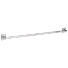 "Chrome 42"" Angular Modern Decorative ADA Grab Bar"