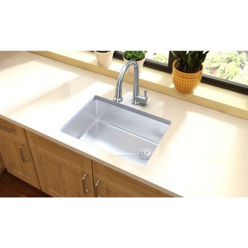 "Elkay Crosstown Stainless Steel 25-1/2"" x 18-1/2"" x 9"", Single Bowl Undermount Sink"