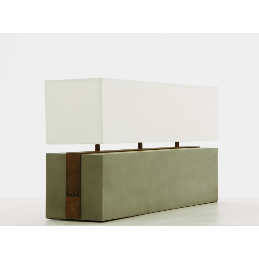 Modrest Valdez Modern Concrete Table Lamp