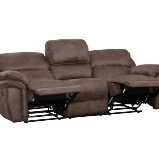 Hadden Power Reclining Sofa Brown
