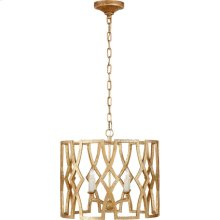 Visual Comfort NW5110VG Niermann Weeks Brittany 4 Light 20 inch Venetian Gold Foyer Lantern Ceiling Light, Niermann Weeks, Small