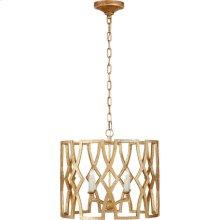 Visual Comfort NW5110VG Niermann Weeks Brittany 4 Light 20 inch Venetian Gold Foyer Lantern Ceiling Light, Niermann Weeks, Small