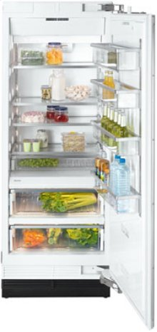 "30"" K 1801 SF Built-In Stainless Steel Refrigerator - Stainless steel"