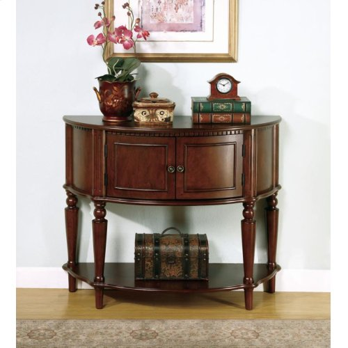 Traditional Brown Console Table
