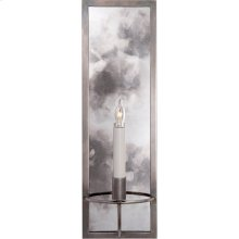 Visual Comfort NW2115AN Niermann Weeks Regent 1 Light 6 inch Antique Nickel with Antique Mirror Sconce Wall Light, Niermann Weeks, Rectangular