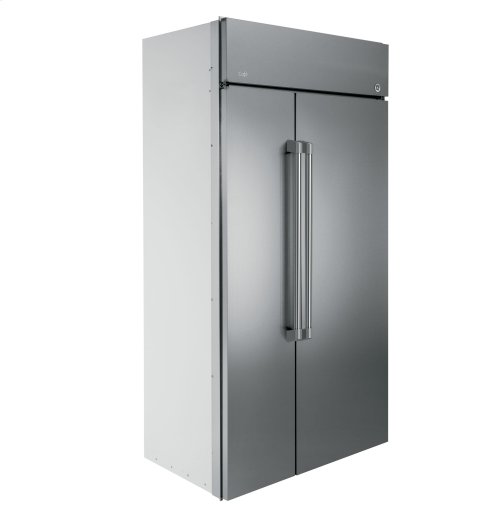 "GE Cafe™ Series 48"" Built-In Side-by-Side Refrigerator"