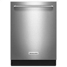 KitchenAid® 46 DBA Dishwasher with Bottle Wash Option and PrintShield™ Finish - PrintShield Stainless