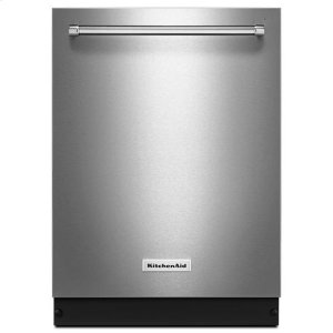 KitchenaidKitchenAid(R) 46 DBA Dishwasher with Bottle Wash Option and PrintShield(TM) Finish - PrintShield Stainless
