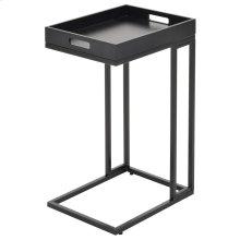 Tobina Accent Table in Black