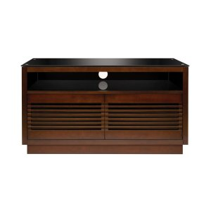 Bell'oNo Tools Assembly Chocolate Finish Wood A/V Cabinet This impressive Chocola...