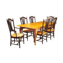 French Gathering Table with Two Leaves
