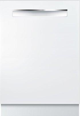 "500 Series 24"" Pocket Handle Dishwasher SHP865WF2N White"