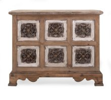 Sylvia Metal and Wood Chest