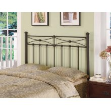 Traditional Rustic Metal Headboard