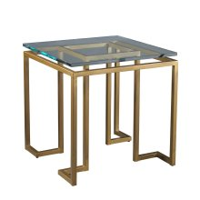 Reid Side Table - Glass