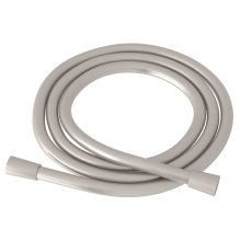 Satin Nickel Smooth PVC Shower Hose Assembly