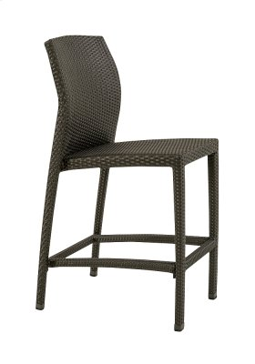 Evo Woven Armless Bar Stool