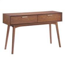 Design District Console Table Walnut