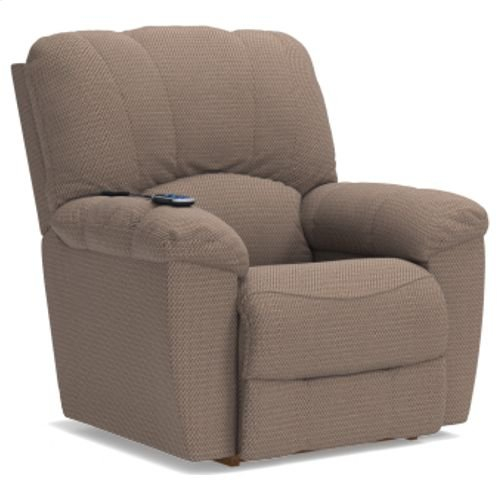 Hayes Power Rocking Recliner w/ Head Rest & Lumbar