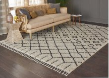 Moroccan Shag Mrs01 Cream Rectangle Rug 7'10'' X 10'6''