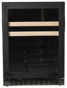 """Beverage Center - 24"""" Glass Door w/ Overlay Product Image"""