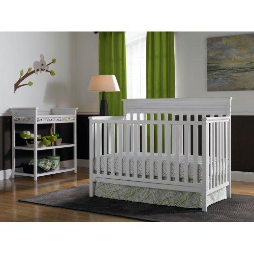 Fisher-Price Newbury Convertible Crib, Snow White