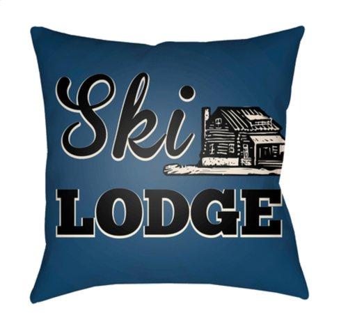 "Lodge Cabin LGCB-2037 22"" x 22"""