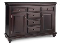 Florentino Sideboard w/2 Wood Doors & 6/Dwrs & 2/Wood Adjust. Product Image
