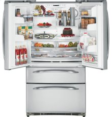 GE Profile™ 24.9 Cu. Ft. Refrigerator with Armoire Styling and Icemaker