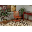 Deluxe Armless Wood Bankers Chair With Wood Seat (fruit Wood Finish) Product Image