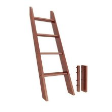 Low Bunk/Mid Loft Angle Ladder : Chestnut