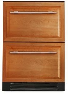 24 Inch Overlay Panel Undercounter Freezer Drawer - Overlay Panels