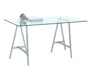 Ackler Writing Desk - Stainless Steel Product Image