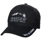 Medium Profile Hat - Black Product Image